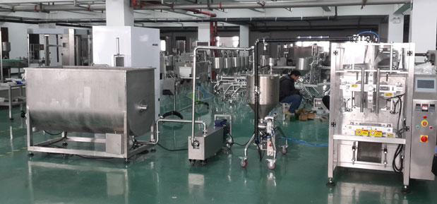 火锅料、火锅底料包装生产线