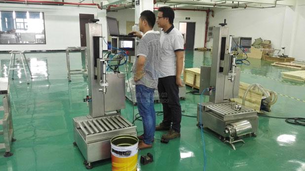 颗粒自动包装机/调料包包装机工厂展示