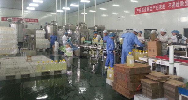 果糖灌装生产线,蜂蜜灌装生产线