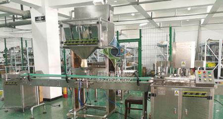 自动化杂粮颗粒罐装包装生产线