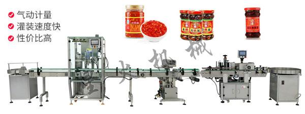 牛肉酱生产线设备,牛肉酱生产线厂家,全自动牛肉酱灌装生产线设备