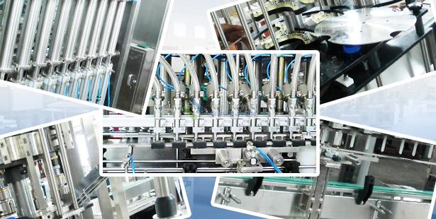 多头灌装生产线产品细节展示