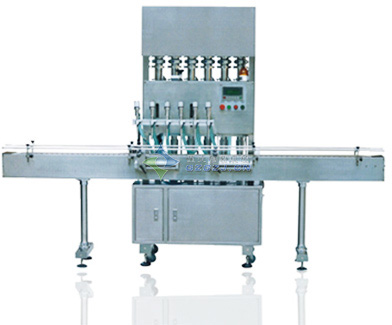 6头直线式液体灌装机