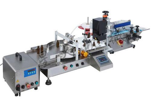 小瓶液体灌装旋盖贴标一体机,实验室灌装旋盖生产线