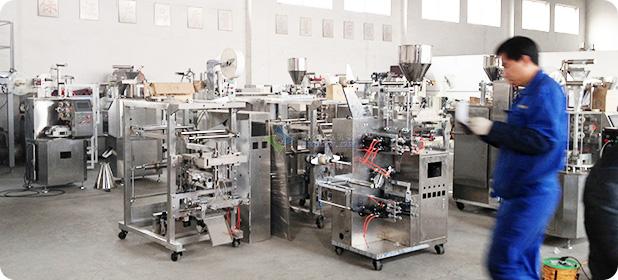 颗粒自动亚博最新客户端/调料包亚博最新客户端工厂展示